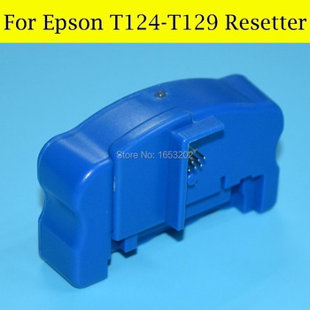 1 PC Chip Resetter For Epson T1261 T1271 T1281 T1291 Stylus BX635FWD BX925FWD BX935FWD WorkForceWF-7015 WF-7515 Printer new ink cartridge chip resetter for epson pp100 pp 100 pp100n pp100ap pp 100ap printer resetter
