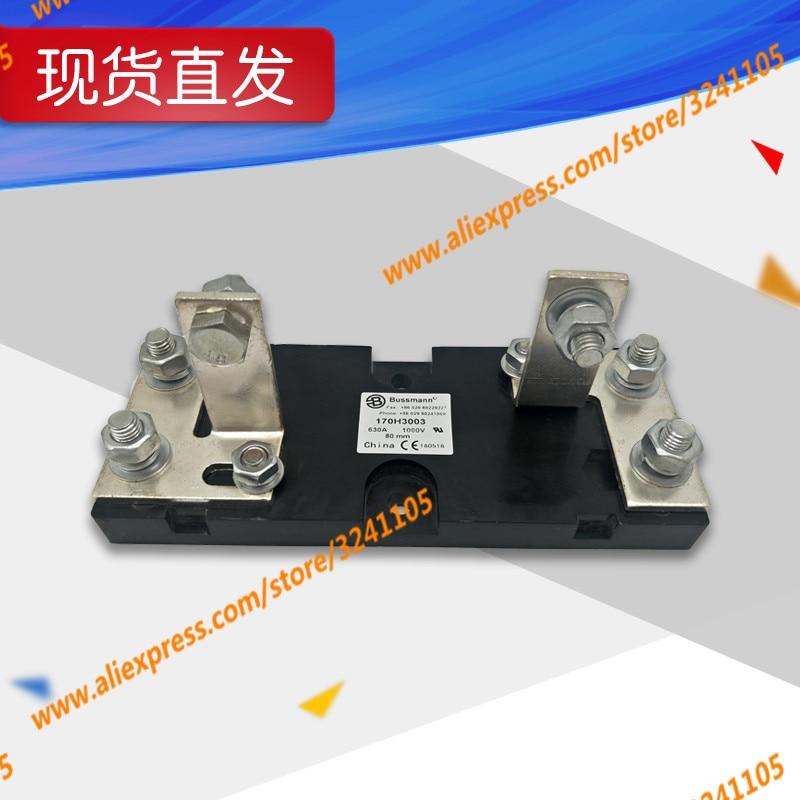 Quick Fuse Base Fuse Holder  170H3003 1000V 630A 80MM