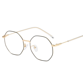VCKA Frame Men Women Opitcal Vintage Eyeglasses Computer Gaming Anti-Blue Rays Glasses Clear Lens For Female Eyewear