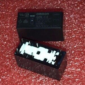 Image 2 - משלוח חינם חדש מקורי Omron ממסר 10 יח\חבילה G2RL 1 E 12VDC G2RL 1 E DC12V G2RL 1 E 12V G2RL 1 E 12VDC