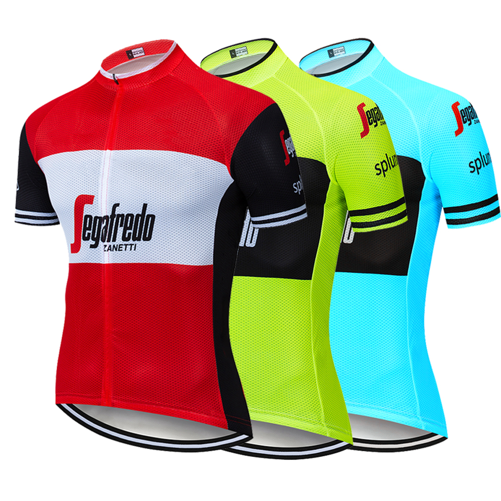 Cycling Jersey Short-Sleeve Trekking Shirt Ropa-De-Ciclismo MTB Summer Breathable Men