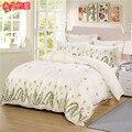 4 unids nuevos juegos de cama conjunto conjuntos de ropa de cama king size edredón funda de edredón Funda de Almohada sábanas colcha no edredón de algodón