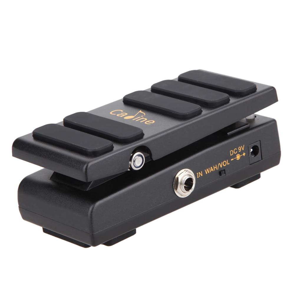 Diseño True Bypass Pedal de volumen Nuevo Portable $ number ma 2en1 Volumen CP-3