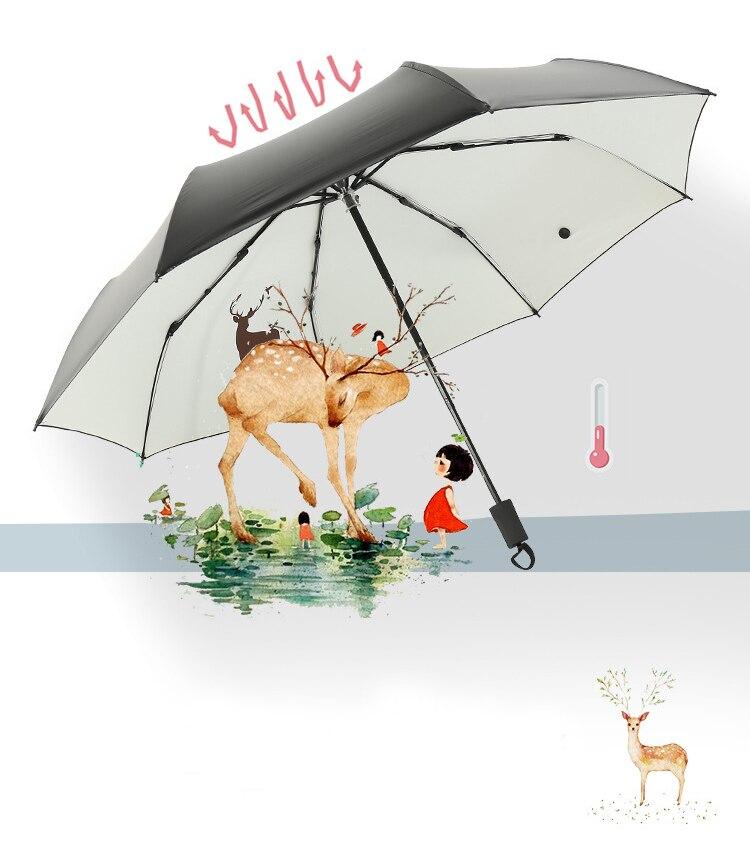 Guarda-chuva Dobrável Para As Mulheres Personalizados Encantos
