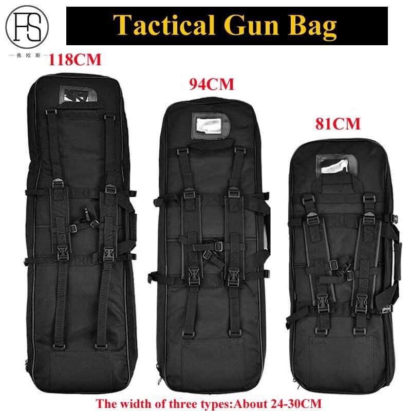 купить Good Tactical Equipment 81/94/118CM Military Backpack Airsoft Gun Bag Square Hunting Carry Bag Protection Case Rifle Backpack по цене 1720.38 рублей