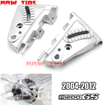 for BMW R1200GS GS1200 04-12 R 1200 GS R1200 GS 2004 - 2012 2011 Motorcycle Windshield WindScreen Mounting Cover Kit Aluminum
