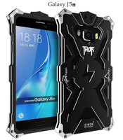 For Samsung J5 2016 J510 Aluminum Metal Cases Cover For Samsung Galaxy J5 2016 Ironman Case