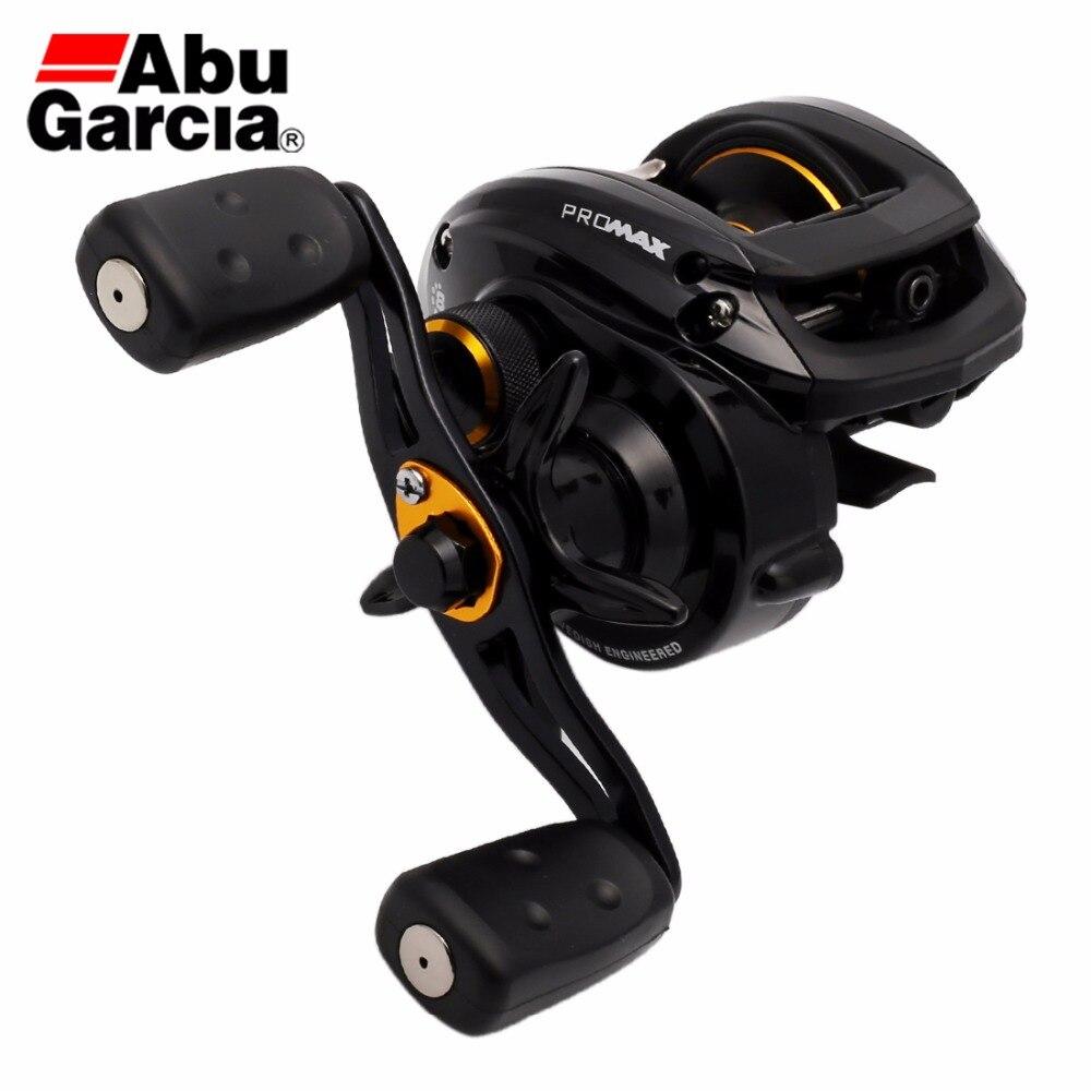 2016 New Abu Garcia Brand Pro Max3 PMAX3 Right Left Hand Bait Casting Fishing Reel 8BB 7.1:1 207g Drum Trolling Baitcasting Reel curado 200hgk