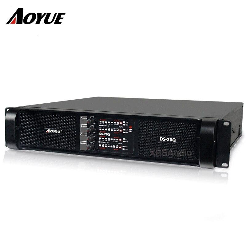 2200 w 8 ohms 4 canaux amplificateur de puissance audio professionnel DS-20Q