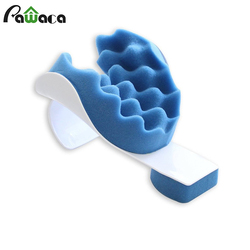 Relief Pillow Neck Shoulder Muscle Relaxer Traction Device for Pain Relief Cervical Spine Alignment Neck Support Travel Pillow