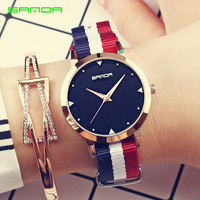 2018 Luxury Brand Clock Women Watches Draw Strap Sports Quartz Watch Casual Couple Models Various Styles