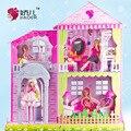 Мечта двойной вилла костюм большая коробка Девочек принцессы дом игрушки подарки