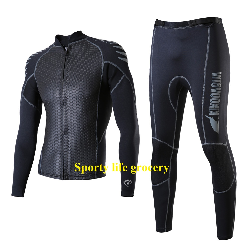 Men's diving wetsuit 2.5mm wetsuit jacket and pant diving suit scuba diving suit wetsuit diving adventure