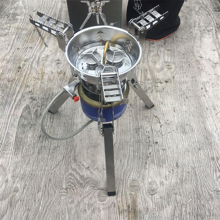 Bulin BL100-B16 Outdoor Camping Picnic Gas Stove 6800W Team Party Family Camp gas Burner bulin windproof stove gas camping outdoor stove infrared bl100 b12