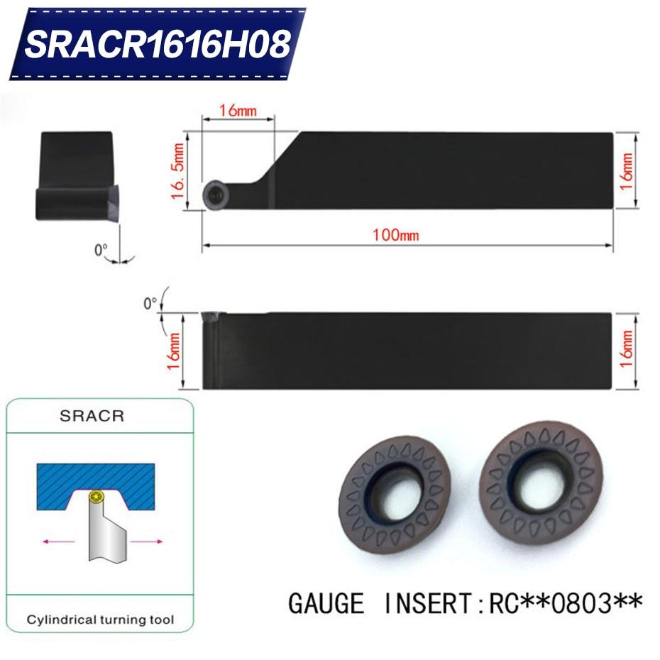 NEW 10mm Indexable Lathe Radius Tool Set  RCMT 12 8 /& 6 Carbide Inserts 10