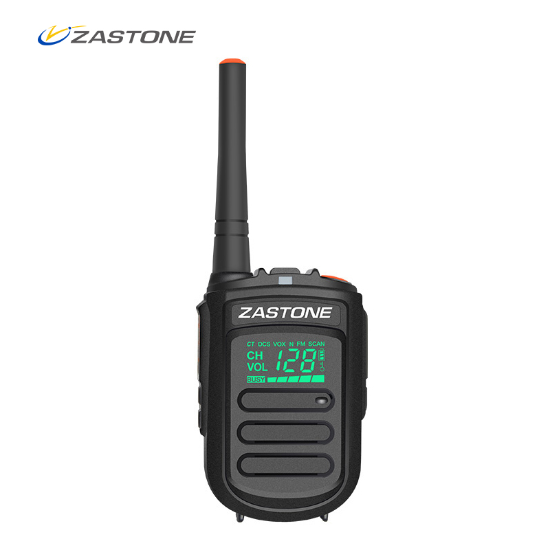 Zastone Portable Walkie Talkie Mini9 UHF 400-470MHz Handhållen Tvåvägs Radio Hamn Radio Communicator Walkie Talkie Transceiver