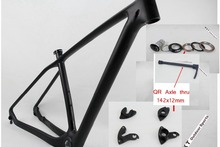 2017   cheap Carbon Frame MTB 29er,Disc Post Mount,BB BSA matte/glossy Finish,Size15′,17′ and 19′,For Bike Bicycle