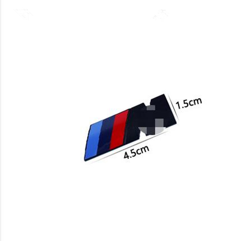10pcs Car Sport M Logo Fender Side Grill Badge Emblem ABS Stickers for M3 M5 E46 E36 E39 E30 E60 E90 F30 F10 E53 X3 X5 X6 cool car auto decoration badge stickers m logo metal 3d car sticker for bmw m3 m5 x1 x3 x5 x6 e36 e39 e46 e30 e60 e92 all model