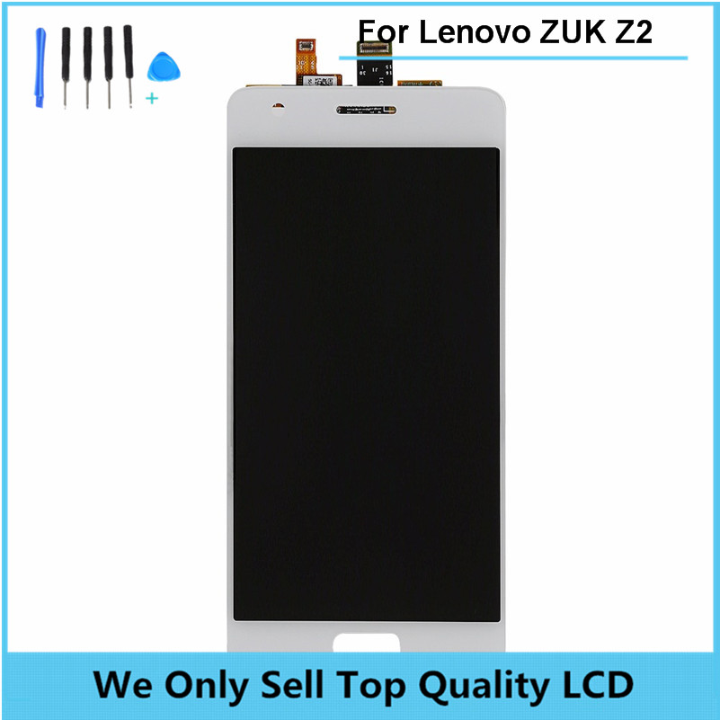 LCD Display Compatible For Lenovo ZUK Z2 With Touch Screen Digitizer Assembly Original Replacement Parts free shipping + Tools