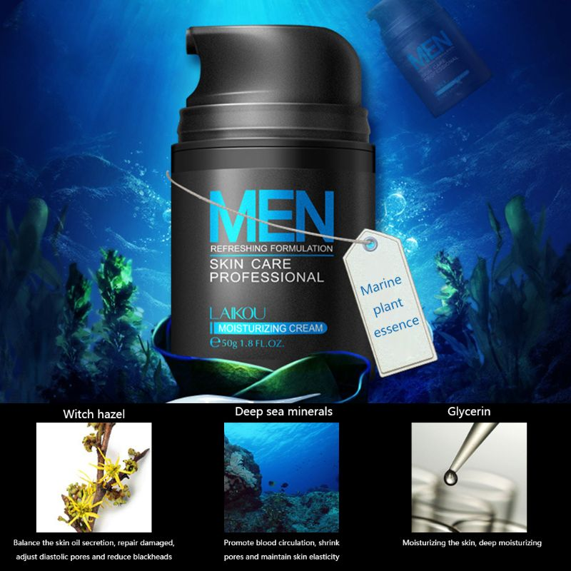 50g Men Whitening Moisturizing Face Cream Combats Wrinkles Concealer Care orchis in Facial Self Tanners Bronzers from Beauty Health