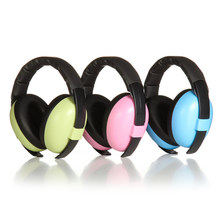 Baby Infant Hearing Protection Earmuff Noise Reduction Ear Muffs for 0-24 Months Baby(China)