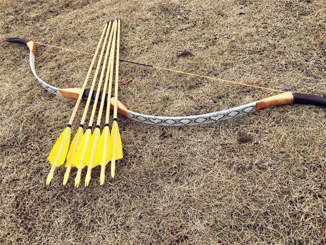 708e17c58 Barato conjunto para a caça longbow! Handmade arco recurvo longbow £ a £ + 6