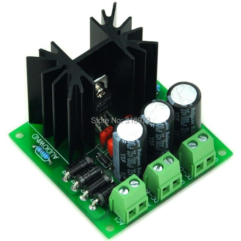 Ultra-low Noise < 60uV Adjustable Negative Voltage Regulator Module, LT3015ET.
