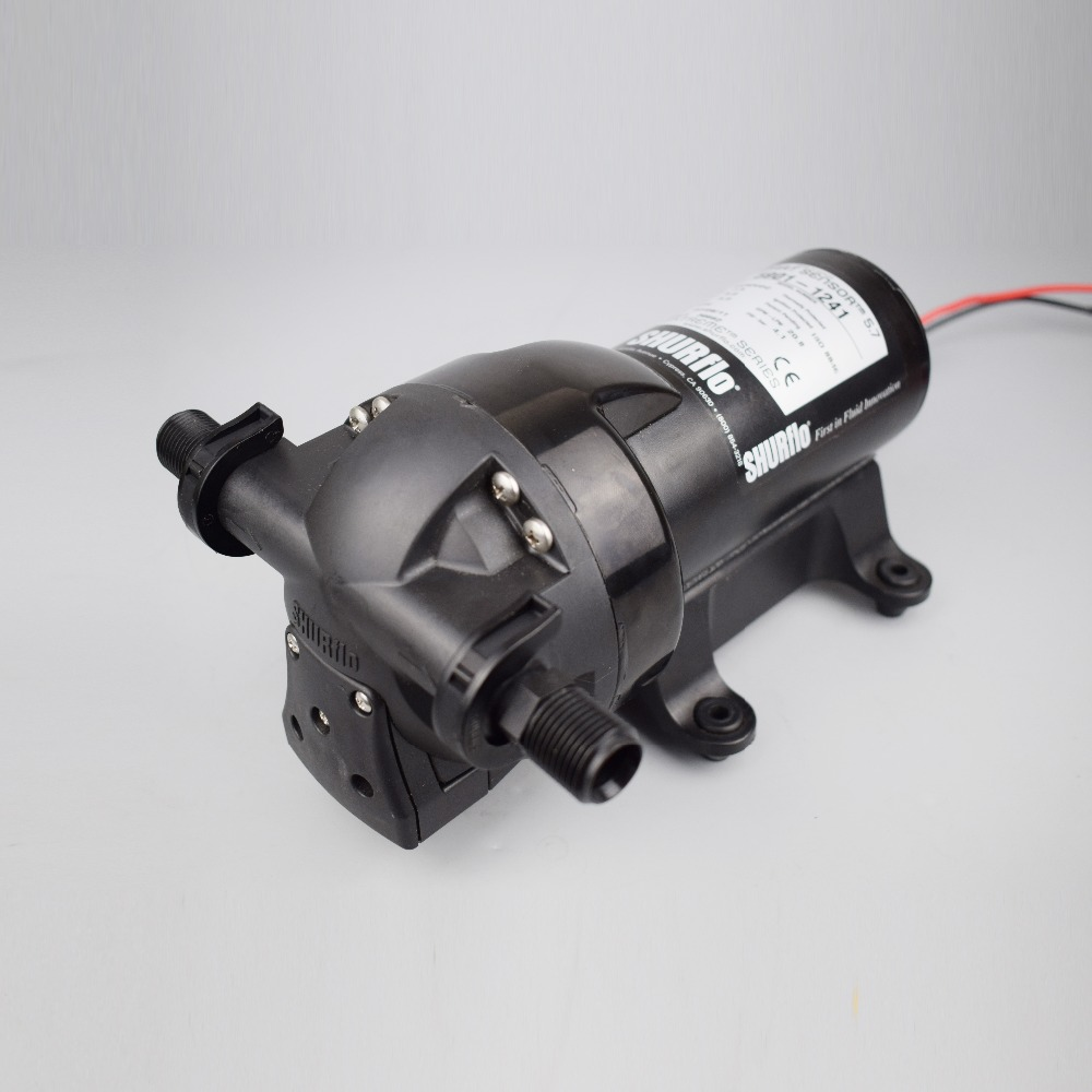 12V Water High Pressure Diaphragm Pump 200PSI 10LPM Caravans//Boat