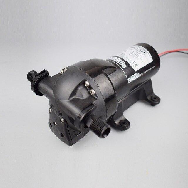 جهاز استشعار ذكي من SHURflo طراز 5901 1241 بسلسلة 5.7GPM جهاز استشعار ذكي بمضخة غشاء 20.8LPM تدفق عالي ضغط عالي 60PSI 24 فولت 32 فولت