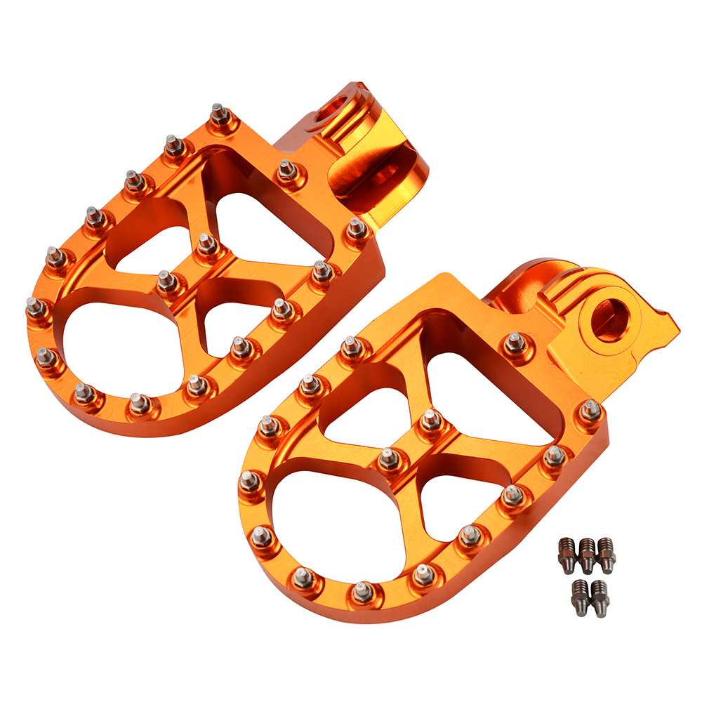 Footrest Footpeg Foot Pegs Rests For KTM 690 950 990 1050 1090 1190 1290 Enduro SMC