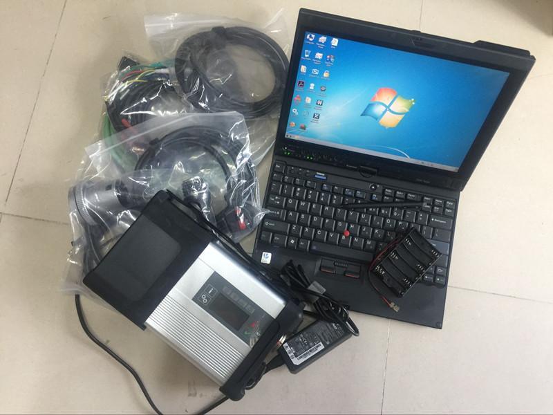 Super star mb c5 toque do portátil para lenovo thinkpad x201t hdd 320 gb 2019.07 software mais recente ferramenta de diagnóstico para carros e caminhões