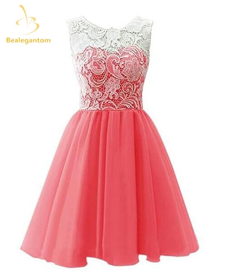 Robe Bal De Promo Silver Gray Short Prom Dresses 2019 Lace Satin Knee Length Lace Up Back Cheap Vestidos Cortos De Gala Prom Dresses Aliexpress