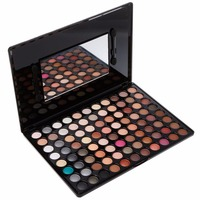 Professional 88 Colors Neutral Warm Color Eyeshadow Eye Shadow Makeup Palette