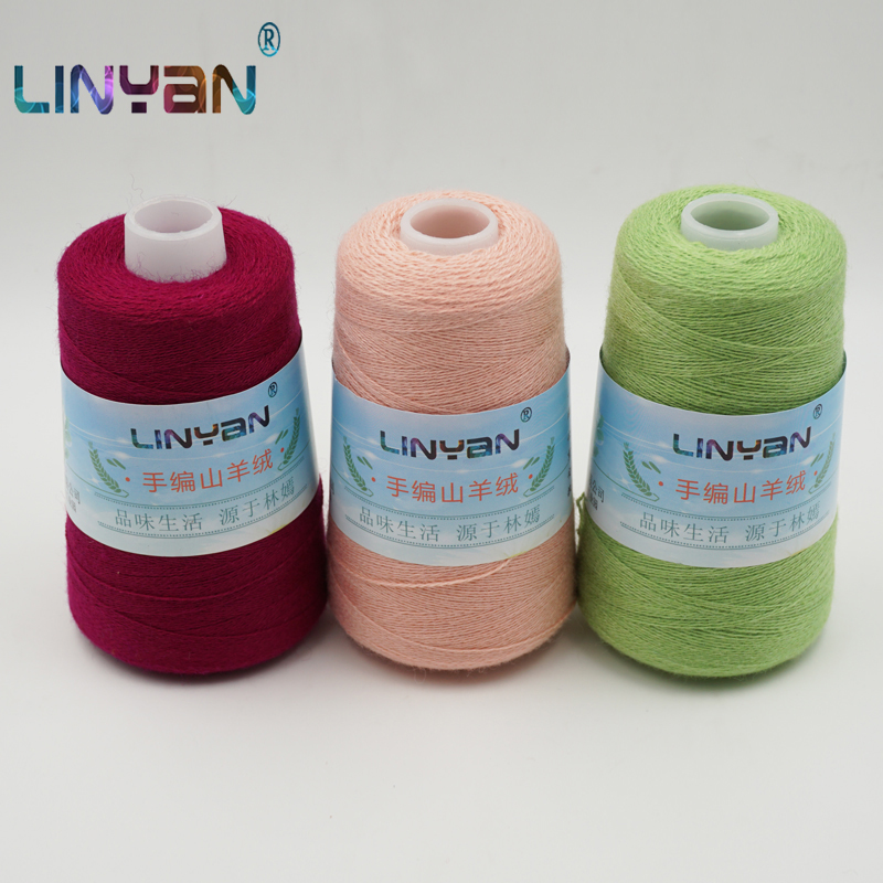 100g*3 Pieces Threadlet 100% Cashmere Thread Hand Knitting & Crochet Thickness Pure Goat Wool Yarn For Knitting & Crocheting ZL7