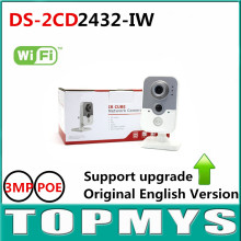 HIK English Version ip camera DS 2CD2432F IW 3MP1080P Wireless CCTV Camera IR Indoor home Security