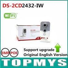 HIK English Version ip camera DS-2CD2432F-IW 3MP1080P Wireless CCTV Camera IR Indoor home Security IP Camera wifi