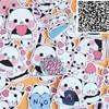 40 pcs Cute little panda cartoon Stickers for  phone Decorative waterproof sticker Scrapbooking For Laptop Children