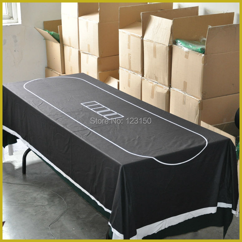 WP-018  Size 240*120cm, Professional Water Resistant Poker Table Cloth,  Free Shipping