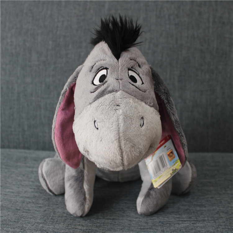 1pcs 35cm Original Gray Eeyore Donkey Stuff Animal Soft Plush Toy Doll Birthday Children & Gril friend Gifts Eeyore stuffed toy 140cm donkey doll donkey plush toy good as a gift soft stuffed toy page 9