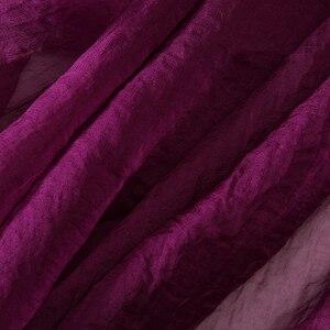 Image 4 - 冬バイオレットサンゴスカーフロング薄型デュアル目的バイオレット 2019 ガーゼサイズシフォンショール