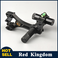 New Compound Bow Red Laser Sight Aluminum Center Laser Aligner With 360 Degree Rotating Head And