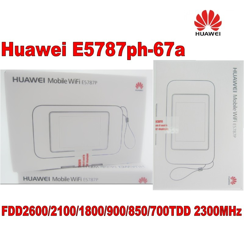 Unlocked Huawei E5787ph-67a Cat6 WiFi Hotspot 3000mAh battery LTE Category  6 mobile 4G