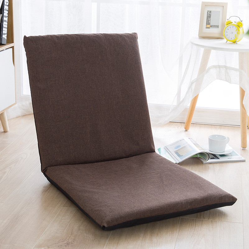 Single Sofa Chair Sale: Lazy Couch Tatami Bedroom Folding Sofa Multifunctional