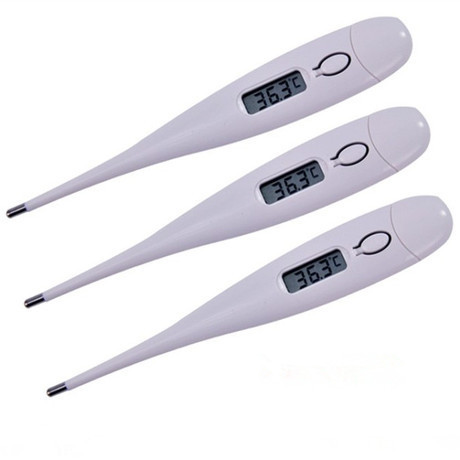 1pcs Digital Lcd Heating Thermometer Tools Kids Baby Child Body Temperature Measurement Free Shipping