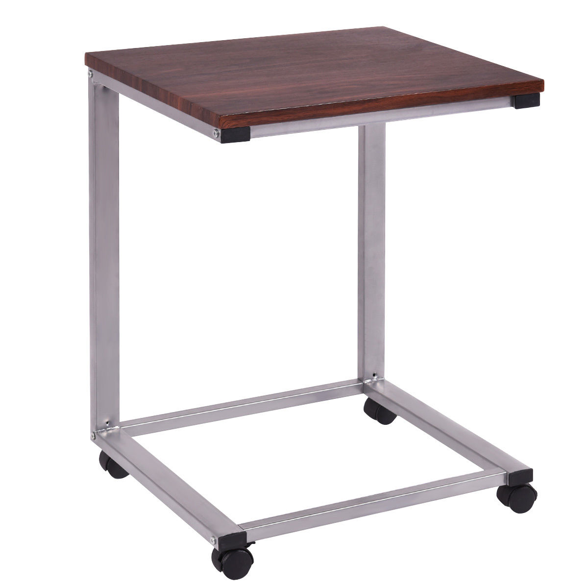 Charmant Giantex Coffee Tray Sofa Side End Table Modern Lap Stand TV Snack Ottoman  Couch Room Rolling Living Room Side Table HW54185 In Computer Desks From  Furniture ...