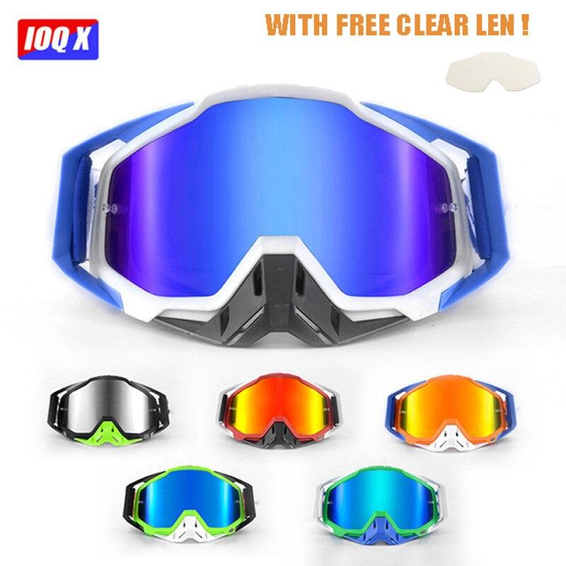 Original IOQX nueva llegada Motocross gafas ATV Casque casco gafas IOQX MX gafas de motocicleta Racing Moto bicicleta gafas de sol