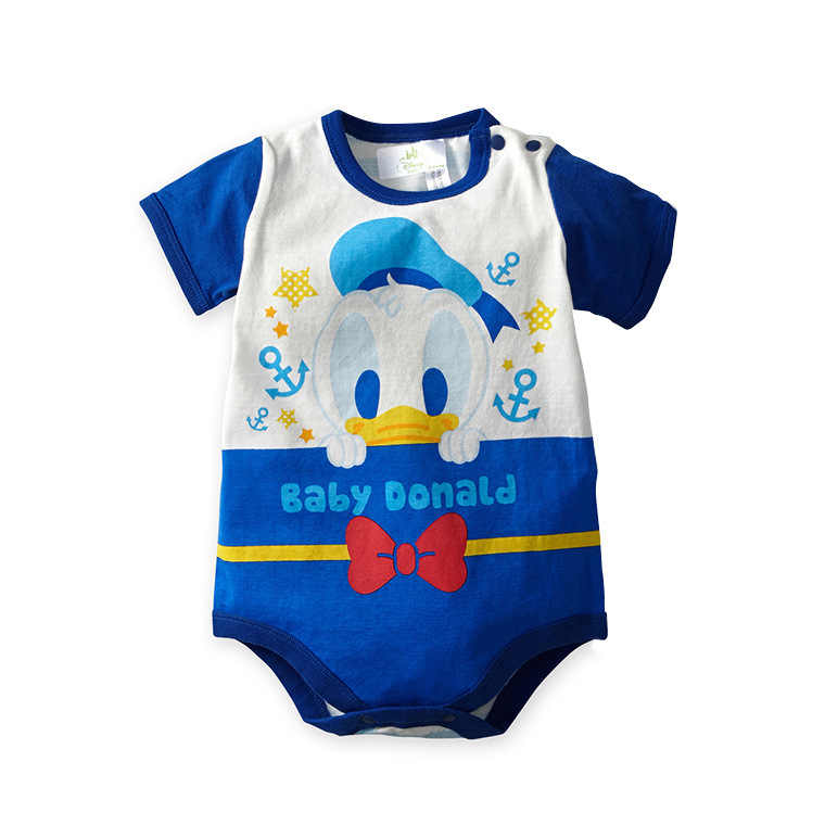 caf1969232736 Newborn Baby Rompers Cartoon Mickey Minnie Boy Girl Clothes Cotton Baby  Jumpsuits Summer Short Sleeve Toddler Outfits