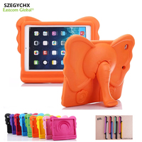 SZEGYCHX Case For Ipad Air1 Air2 Pro 9 7 General Elephant Nose Cute 3D Cartoon Handle