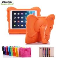 SZEGYCHX Case For Ipad Air1 Air2 Pro 9 7 General Elephant Nose Cute 3D Cartoon Handle