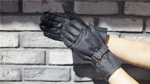 Free Shipping UGLYBROS Spring and autumn leather gloves unisex motorcycle gloves road moto riding Long gloves size M-XL